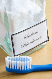 Toothbrush and Sodium Bicarbonate